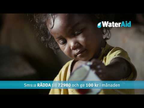WaterAid - Sofia Helin och Elodie