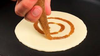 СИННАБОН – это не только легендарные булочки! Вкуснейшие панкейки «Сinnamon roll»