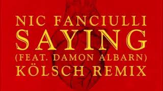 Nic Fanciulli - Saying (Kölsch Remix) [Techno] [Saved Records]