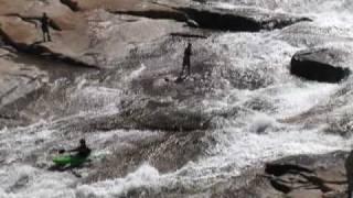 Kayak sur catégorie 6