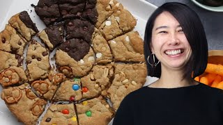 How To Make A Multi-Flavor Skillet Cookie Recipe With Rie • Tasty