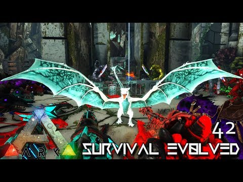 ARK: SURVIVAL EVOLVED - GIANT FROST WYVERN EVOLUTION | ARK EXTINCTION ETERNAL E42