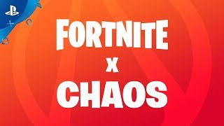 Fortnite x chaos :  bande-annonce