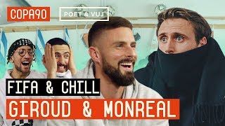 Blindfold FIFA and Chill ft Giroud vs Monreal | Arsenal vs Chelsea Special with Puma Football