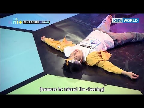 I'm the best dancer! Feeldog's breathtaking dance steps [The Unit/2018.01.03]