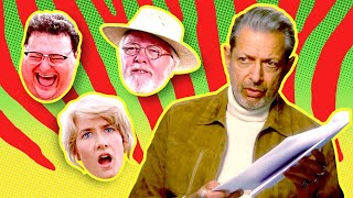Jeff Goldblum Plays Every Role in Jurassic Park