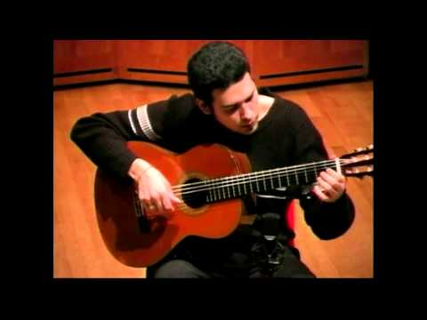 Evocacion and Joropo from the Suite del Recuerdo. Senior recital 2005.