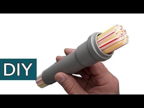 Как сделать полезную насадку из пластиковой трубы.#Стройхак photo