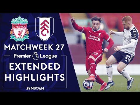 Liverpool v. Fulham | PREMIER LEAGUE HIGHLIGHTS | 3/7/2021 | NBC Sports
