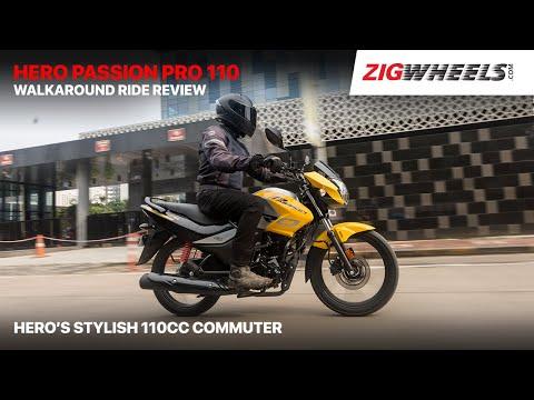 ????? Hero Passion Pro 110 Walkaround Ride Review | Hero's Stylish 110cc Commuter