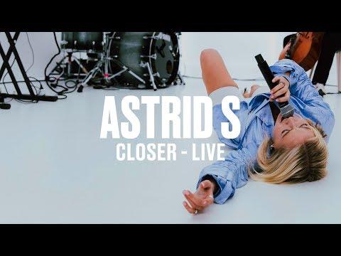 Astrid S - Closer (Live) | Vevo DSCVR ARTISTS TO WATCH 2019