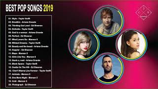 Ed Sheeran,Taylor Swift, Ariana Grande, Maroon 5 Greatest Hits 2019 - Best Pop Songs Hits 2019