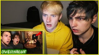 REACTING to OVERNIGHT at Biltmore Hotel (Scary)