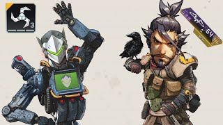 Playing as Genji & Hanzo but in Apex Legends