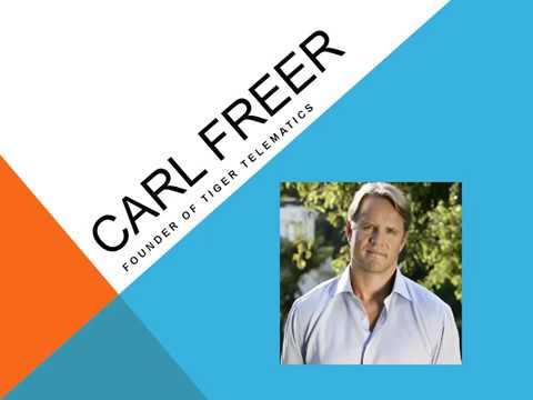 Carl Freer: Carl Freer is a Technology Enterpreneur