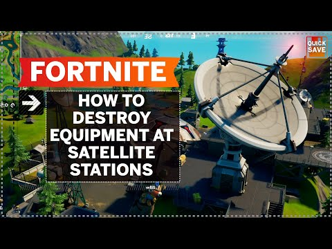 Where to Destroy Satellite Equipment in Fortnite | Quick Save