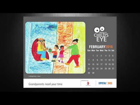 "Crystal Hues Calendar 2016: ""From a Child's Eye"""