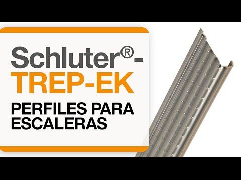 Cómo instalar un remate para cantos de cerámica sobre escaleras: Schluter®-TREP-EK