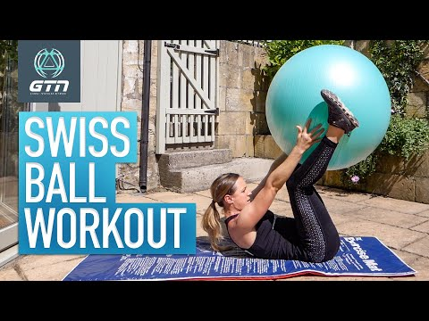 Swiss Ball Workout! | Core Stability Exercises With A Gym Ball