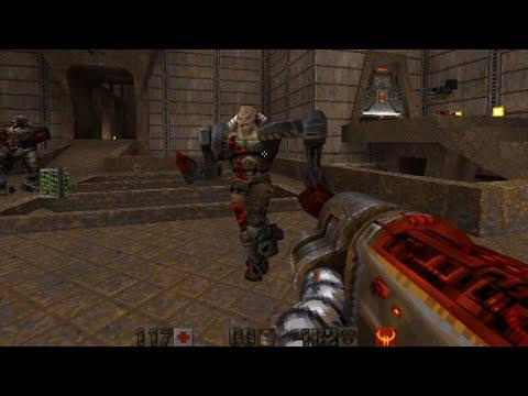 Quake II (id Software) (Windows) [1997] [PC Longplay]