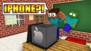 Monster School : FREE GIFT FROM APPLE - Minecraft Animation