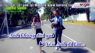 Karaoke full beat 100% Anh Khong Doi Qua   OnlyC ft Karik Official MV 720p