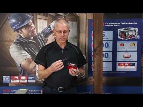 Bosch GBA18 18v 4.0ah Li-on Cool Pack Battery