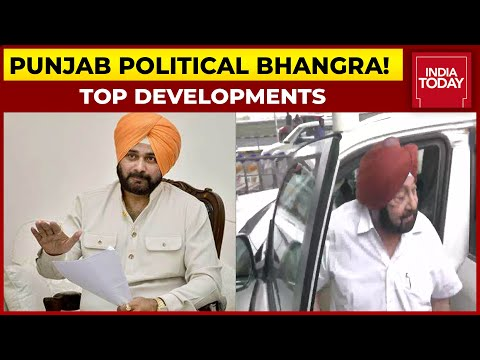 High-Voltage Drama In Punjab; Sidhu-Channi Meeting Today, Amarinder Singh All Set To Exit Congress