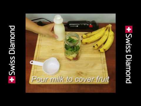 Healthy Smoothies with the Jêt Mix