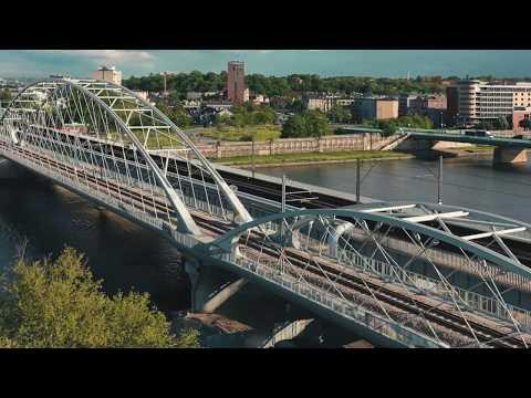 STRABAG: Pierwszy z trzech nowych mostów kolejowych przez Wisłę w Krakowie