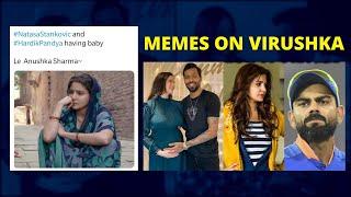 Memes on Kohli-Anushka FLOOD social media after Hardik-Nat..