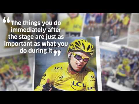 Three-time Tour De France winner Chris Froome