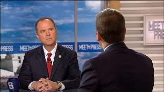 Full Schiff: 'Facts for recusal are very strong here' for acting Attorney General | Meet The Press