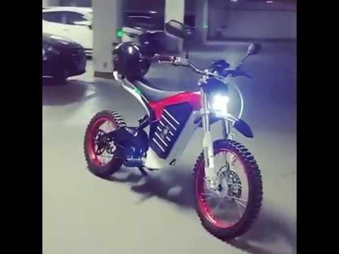 Sport Carbon Fiber Electric Powerful Bike Samurai M