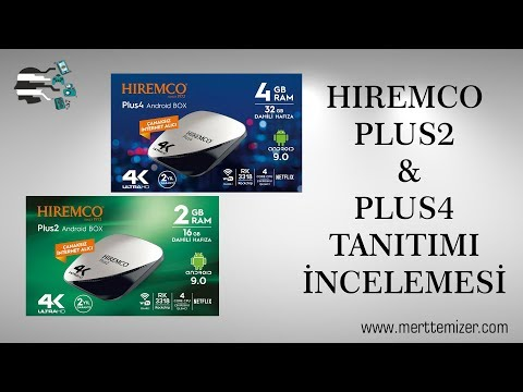 video Hiremco Plus 4 Tv Box