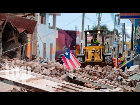 Watch the devastation caused by the earthquakes in Puerto Rico