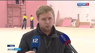 Губернатор Омской области Виктор Назаров остался доволен ходом возведения мультимедийного исторического парка