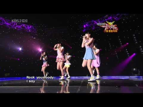 [HD][080725] | KARA - Rock U. (Comeback Stage ♡) @ MuBank. ☆彡