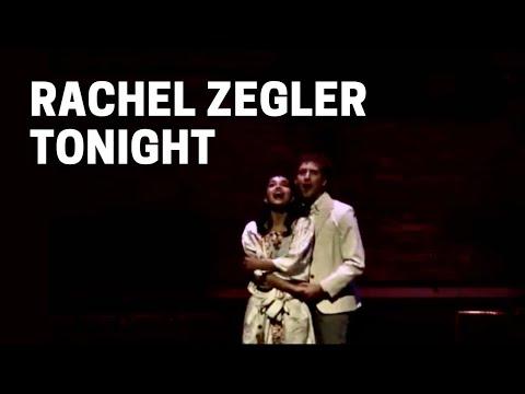 Rachel Zegler singing Tonight from West Side Story