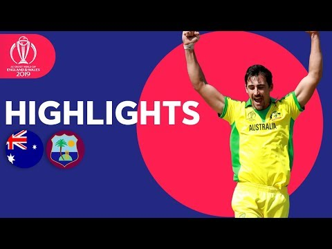 Australia vs West Indies | ICC Cricket World Cup 2019 - Match Highlights