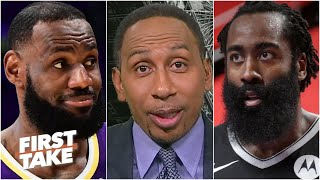James Harden or LeBron James: Whose return are you anticipating more? | First Take