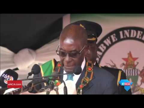 Mugabe urges Zimbabweans to guard their independence
