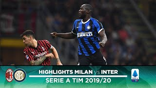 MILAN 0-2 INTER | HIGHLIGHTS | Milano is Black and Blue... once again! 😁⚫🔵