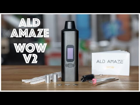 video Ald Amaze WOW V2 Portable Vaporizer