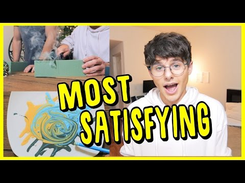 """THE MOST """"SATISFYING"""" VIDEO EVER! Hope this satisfied you. Not the cutting things or bath bombs but the video itself.  SUBSCRIBE TO MIKE: http://www.youtube.com/MikesLife06 ADD ME ON SNAPCHAT: WhatsaMikey  I hope that you guys enjoyed this video! CLICK HERE TO SUBSCRIBE- https://goo.gl/OzLBHT  ● ● ● ● ● ● ● ● ● ● ● ● ● ● ● ● ● ● ● ● ● ● ● ● ● ● ● ● ● ● ● ● ● ● ● ●   TWITTER // https://twitter.com/MikeyMurphy INSTAGRAM // http://instagram.com/ItsMikeyMurphy TUMBLR // http://bootyhadmemike.tumblr.com/ SOUNDCLOUD // https://soundcloud.com/HeardMikey NEW PLAYLISTS ON SPOTIFY // search """"Mikey Murphy""""  ● ● ● ● ● ● ● ● ● ● ● ● ● ● ● ● ● ● ● ● ● ● ● ● ● ● ● ● ● ● ● ● ● ● ● ●  Alright so I am sitting here waiting for the video to process, just tweeted that it was gonna be up in 30 seconds and then youtube tells me its gonna take 4 MINUTES!?? Anyway, I hope you guys liked the text I used in this video w/ the music, it took a while to edit, and its like my favorite thing ever. WELL its almost uploaded, let me know if you read this, tweet me or something, its cool you even go to this part of my description. You will be successful in life. You"""