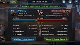 Nether War.. wow.. kinda good.. Amazing - King of Avalon