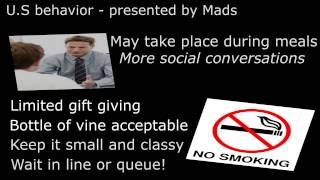 English movie - American Business Behavior