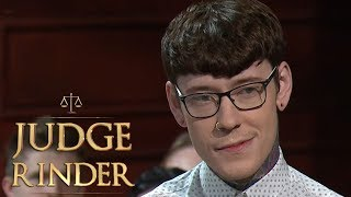 Judge Kicks a Man Out of Court for Repeatedly Swearing! | Judge Rinder