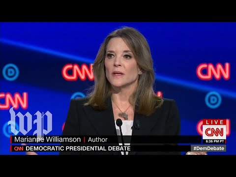 How Marianne Williamson talks about reparations beyond the debate stage