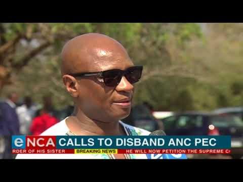 Calls to disband ANC PEC
